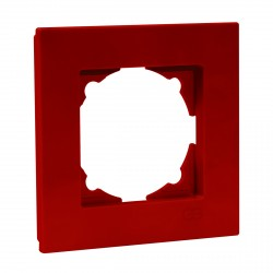 Рамка одинарная Gunsan Eqona вишнева (1405300000140)