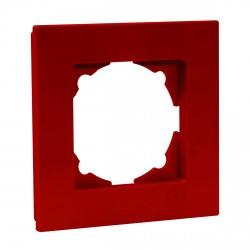 Рамка одинарная Gunsan Eqona вишнёвая (1405300000140)