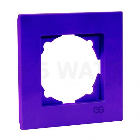 Рамка одинарная Gunsan Eqona лиловая (1404700000140) - купить