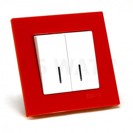 Рамка одинарная Gunsan Eqona помаранчева (1404500000140) - в інтернет-магазині