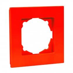 Рамка одинарная Gunsan Eqona оранжевая (1404500000140)