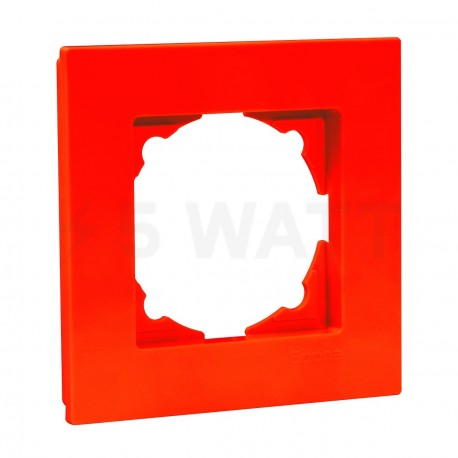Рамка одинарная Gunsan Eqona помаранчева (1404500000140) - придбати