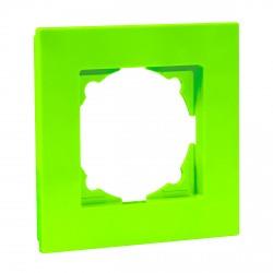 Рамка одинарна Gunsan Eqona фісташкова (1404600000140)