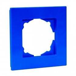 Рамка одинарная Gunsan Eqona голубая (1405000000140)