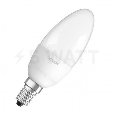 LED лампа OSRAM LED Value Classic B40 6W E14 2700K FR 220-240V(4052899326453) - купить