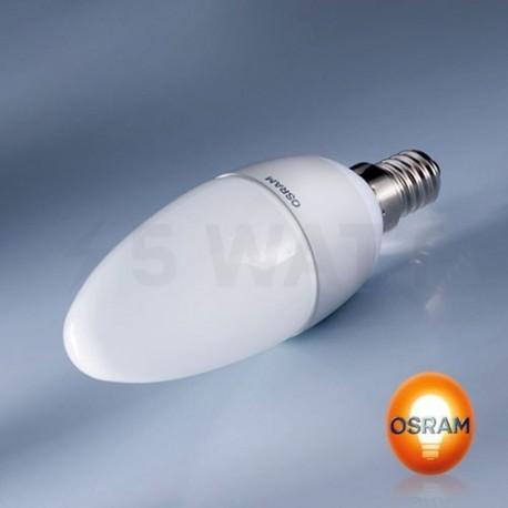 LED лампа OSRAM LED Value Classic B40 6W E14 2700K FR 220-240V(4052899326453) - недорого