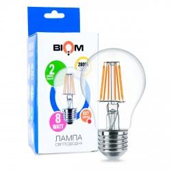 Світлодіодна лампа Biom FL-311 A60 8W E27 3000K