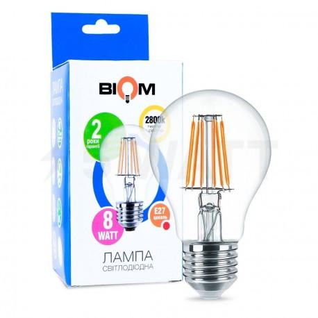 Светодиодная лампа Biom FL-311 A60 8W E27 3000K - купить