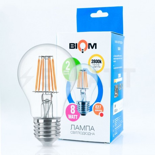 Светодиодная лампа Biom FL-311 A60 8W E27 3000K - магазин светодиодной LED продукции
