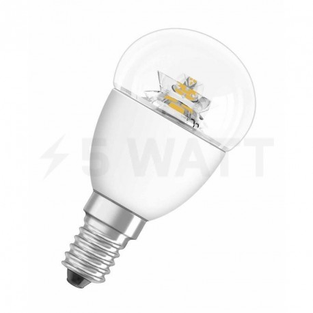 LED лампа OSRAM LED Star Classic P40 6W E14 2700K CL 220-240V(4052899911963) - купить