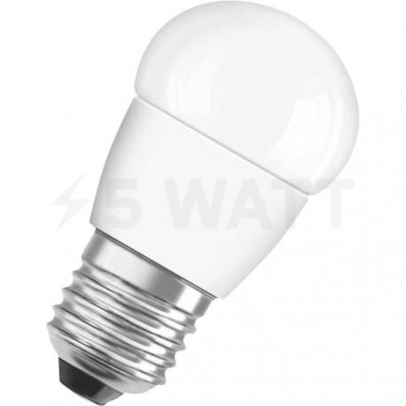 LED лампа OSRAM LED Super Star Classic P40 5,4W E27 4000K FR DIM 220-240V(4052899279742) - придбати