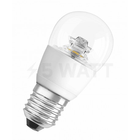 LED лампа OSRAM LED Star Classic P40 6W E27 2700K CL 220-240V(4052899911956) - придбати