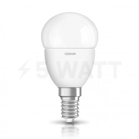 LED лампа OSRAM LED Super Star Classic P40 5W E14 2700K FR DIM 220-240V(4052899900905) - недорого