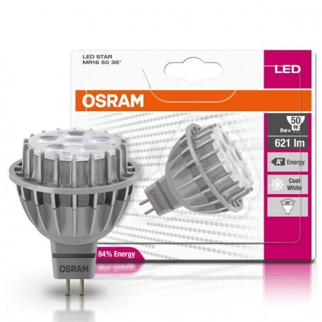 LED лампа OSRAM LED Star MR16 8W GU5.3 4000K 230V(4052899944411) - в інтернет-магазині