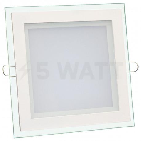 Светильник светодиодный Biom GL-S6 WW 6Вт квадратный теплый белый - купить