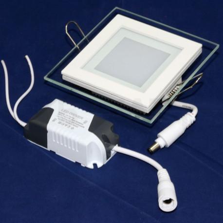 Светильник светодиодный Biom GL-S6 WW 6Вт квадратный теплый белый - недорого