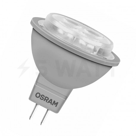 LED лампа OSRAM LED Super Star MR16 5W GU5.3 2700K DIM 12V(4052899944299) - придбати