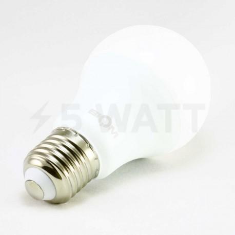 Набор LED ламп BIOM A60 12W 4500K E27 (по 5 шт.) - недорого