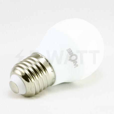 Набор LED ламп BIOM G45 7W 3000K E27 (по 5 шт.) - недорого
