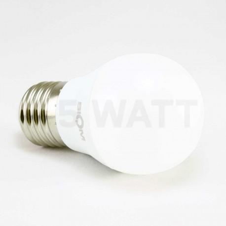 Набор LED ламп BIOM G45 7W 3000K E27 (по 5 шт.) - в Украине