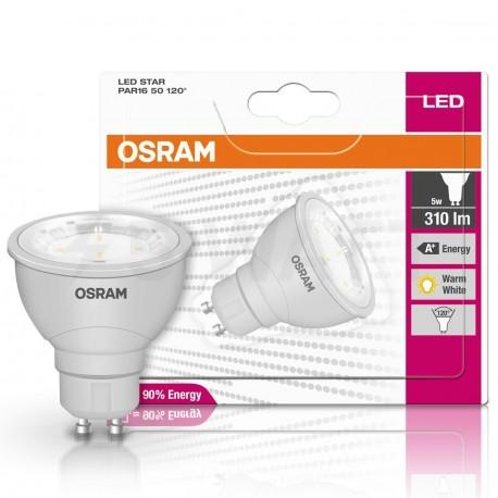 LED лампа OSRAM LED Star GU10 5W 2700K (4052899944237) - в Украине