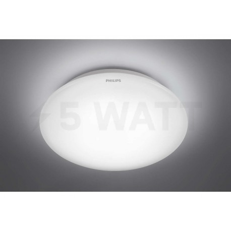 Світильник світлодіодний PHILIPS 33361 LED 6W 6500K White накладной круглый (915004478601) - недорого