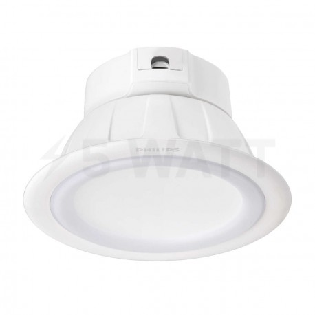 Светильник LED PHILIPS Smalu 59061 TW WH 9W 2700-6500K White встр. кругл.(915005189801)