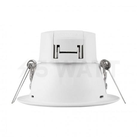 Светильник светодиодный PHILIPS 66023 LED 9W 4000K White встраиваемый круглый (915005092801) - недорого