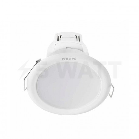Светильник светодиодный PHILIPS 66023 LED 9W 4000K White встраиваемый круглый (915005092801) - купить
