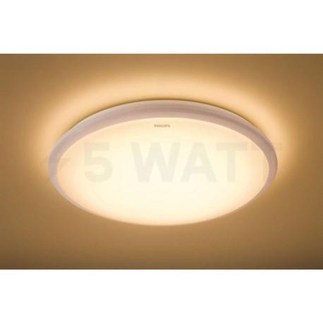 Світильник світлодіодний PHILIPS 31817 LED 12W 2700K IP65 White накладний круглий (915004489501) - недорого