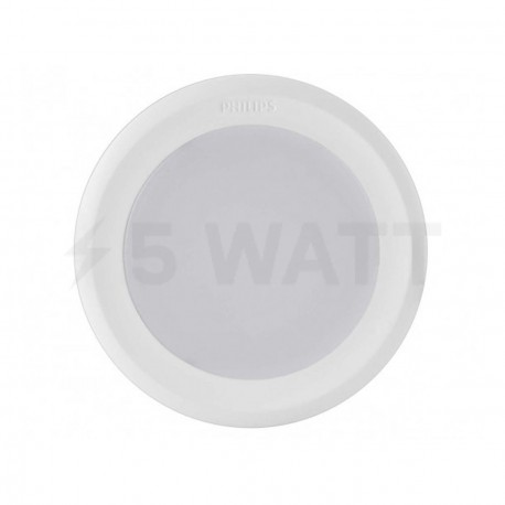 Світильник світлодіодний PHILIPS 44081 LED 5W 2700K White вбудований круглий (915005093301) - в інтернет-магазині