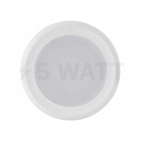 Светильник светодиодный PHILIPS 44082 LED 7W 4000K White встраиваемый круглый (915005093701) - магазин светодиодной LED продукции