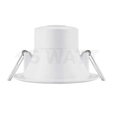 Светильник светодиодный PHILIPS 44082 LED 7W 4000K White встраиваемый круглый (915005093701) - недорого