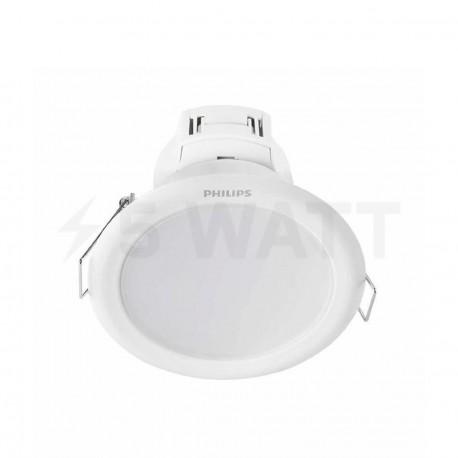 Світильник світлодіодний PHILIPS 66020 LED 3.5W 2700K White вбудований круглий (915005091801) - придбати