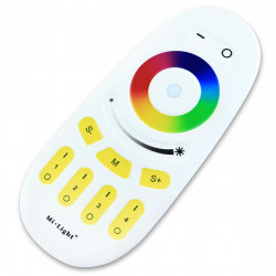 Пульт д/к Mi-light RGB/RGBW 2,4G Touch 4-х зонний (RL096-RGB)