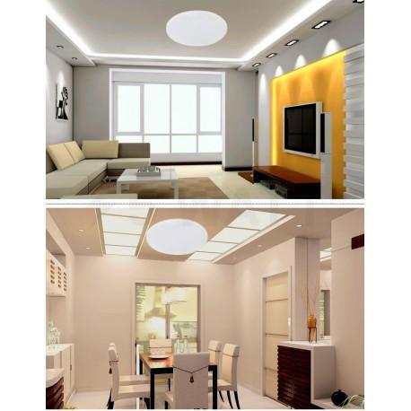 Світильник світлодіодний PHILIPS 31817 LED 12W 6500K IP65 White накладний круглий (915004489401) - недорого