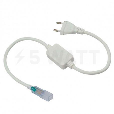 Кабель живлення для світлодіодних стрічок OEM PS 220В 2835-180 ip65 - придбати