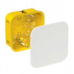 Коробка распределительная Schneider г/к с крышкой 100х100х50