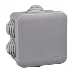 Коробка распределительная Schneider с крышкой, 70х70х40, IP55