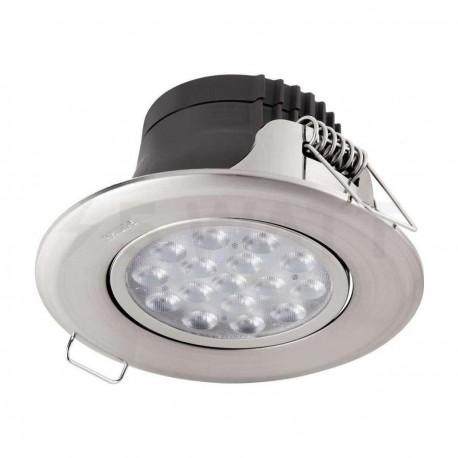 Светильник светодиодный PHILIPS 47041 LED 5W 4000K Nickel встраиваемый круглый (915005089401) - магазин светодиодной LED продукции
