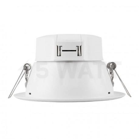 Светильник светодиодный PHILIPS 66022 LED 6.5W 4000K White встраиваемый круглый (915005092401) - в интернет-магазине