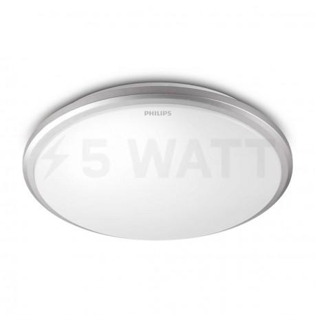 Светильник светодиодный PHILIPS 31814 LED 12W 2700K Grey накладной круглый (915004487201) - купить