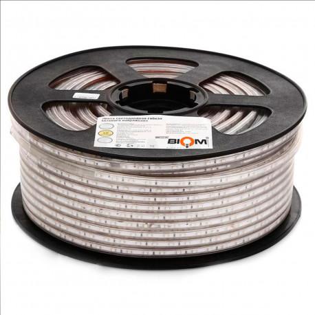 Светодиодная лента JL 2835-180 W 220В IP68 белый, герметичная, 1м - купить