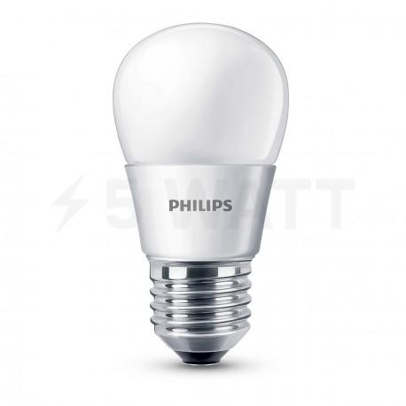 LED лампа PHILIPS Essential LEDbulb P45 3-20W E27 3000K 230V (929001160308) - придбати