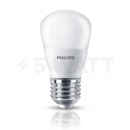 LED лампа PHILIPS Essential LEDbulb P45 3-20W E27 6500K 230V (929001160408) - придбати