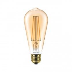 LED лампа PHILIPS LEDClassic ST64 7-60W E27 2000K Gold (929001228908)