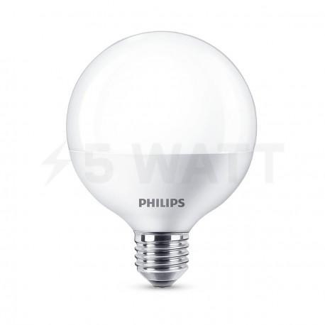 LED лампа PHILIPS LEDGlobe G93 8.5-70W E27 6500K (929001229307)