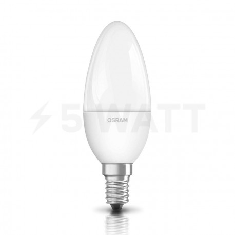 LED лампа OSRAM LED Super Star Classic B40 5,4W E14 4000K CL 220-240V DIM (4052899279599) - придбати