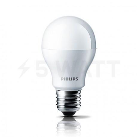 Набір LED ламп PHILIPS LEDBulb A55 4-40W E27 6500K 230V (8717943885046) - недорого