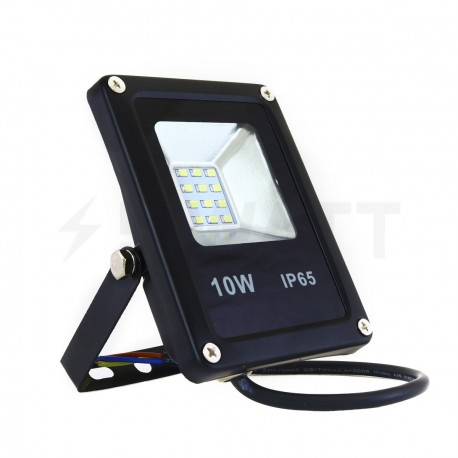 Светодиодный прожектор BIOM 10W S2-SMD-10-Slim 6500К 220V IP65 - купить